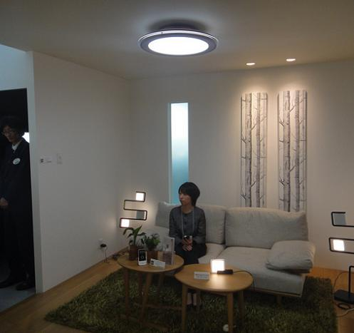 Decoracion mueble sofa lamparas led para hogar for Decoracion led hogar