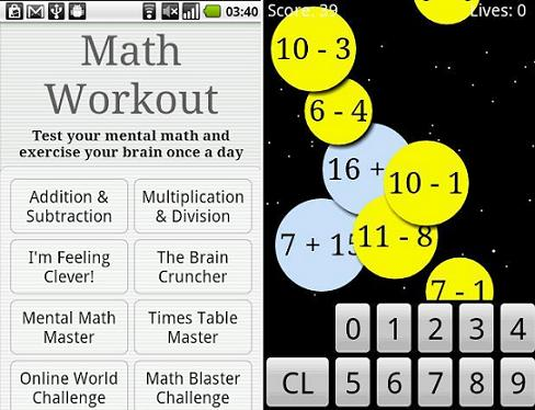 math workout